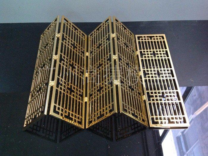 金属模型铝质工艺品金黄色电镀