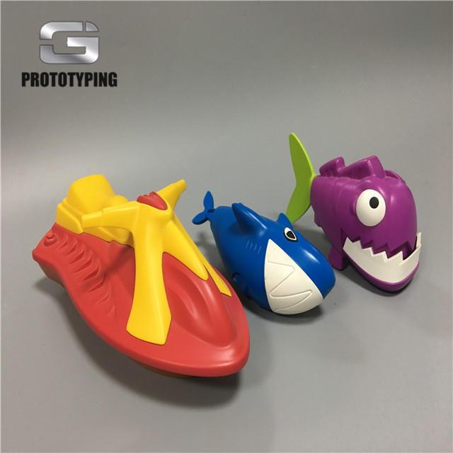 多姿多彩玩具一体成型