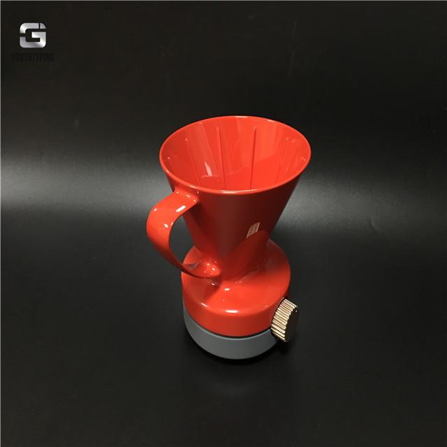 光面咖啡杯模型