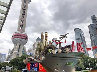 """20座建筑全3D打印,""""奋进上海""""彩车今起向公众展示"""