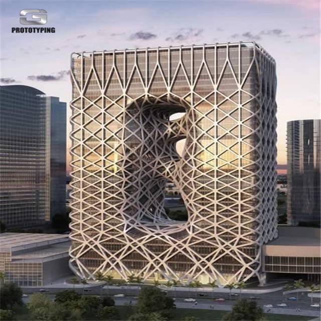 Zaha hadid澳门Morpheus酒店模型
