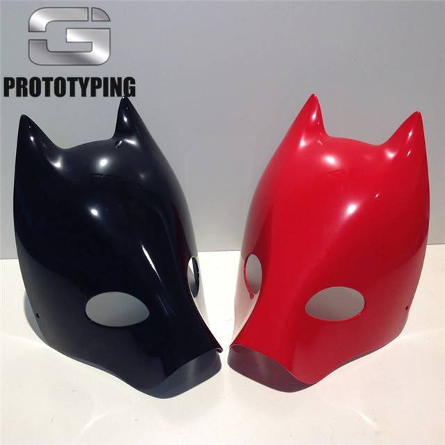 3D打印光面面具