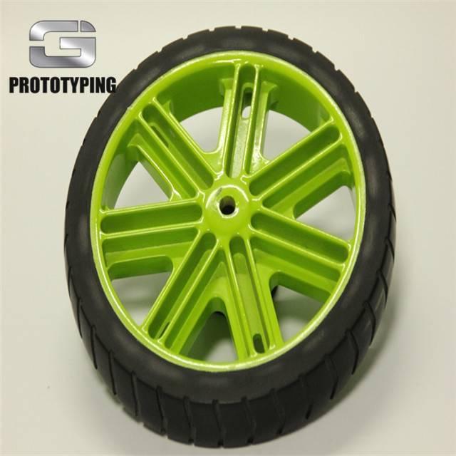 汽车软胶+ABS轮胎