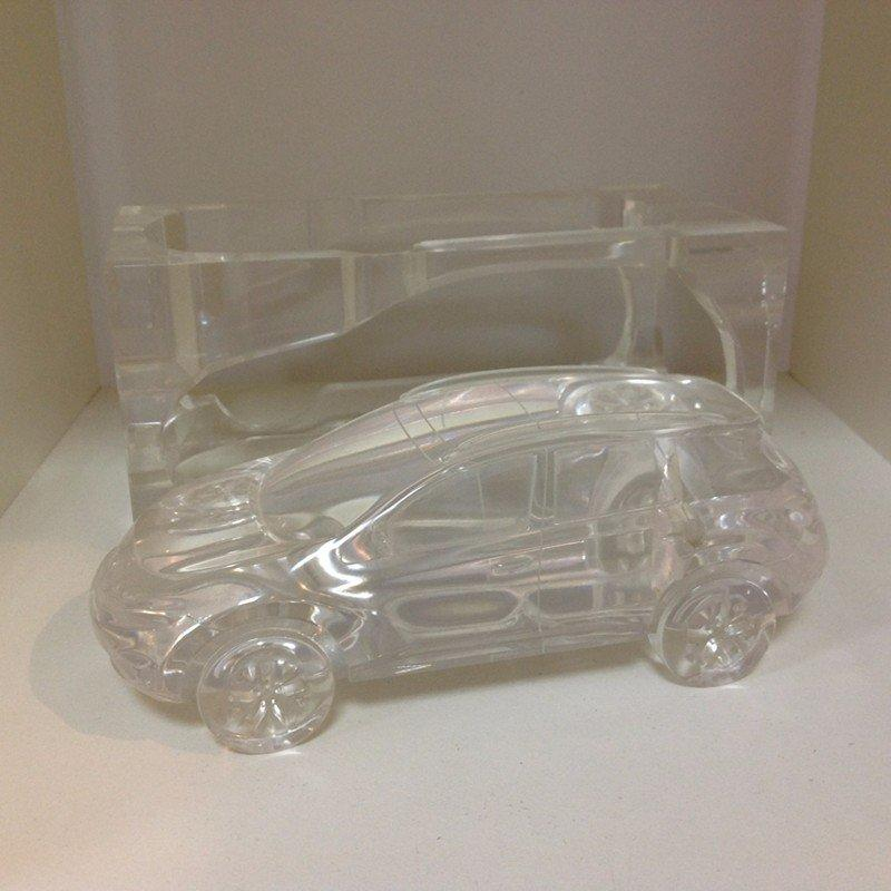 透明亚克力汽车模型