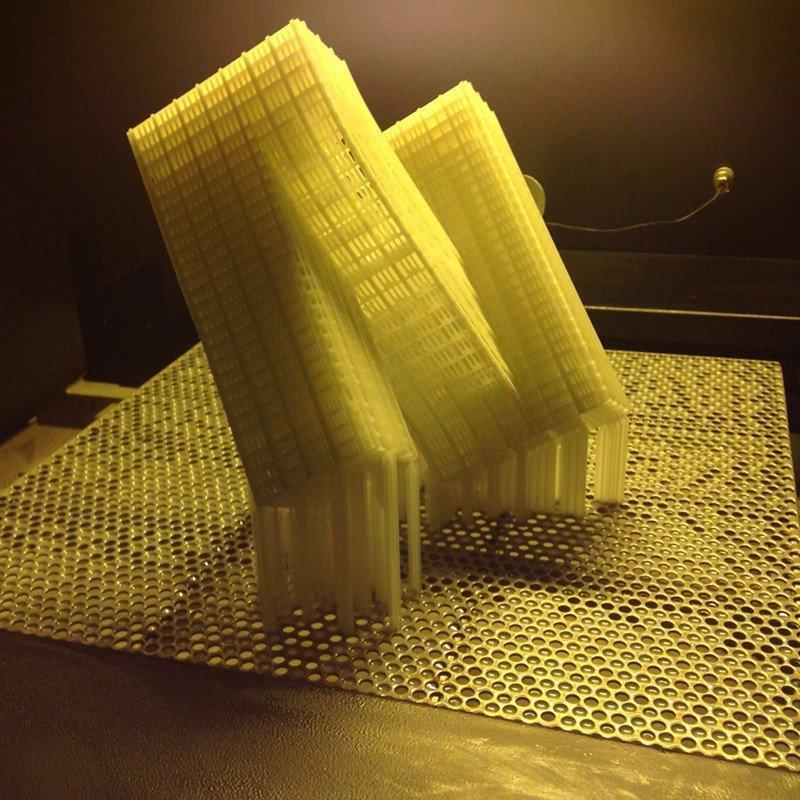 光固化树脂模型