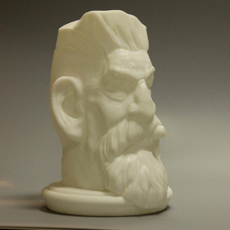 艺术老人头像模型