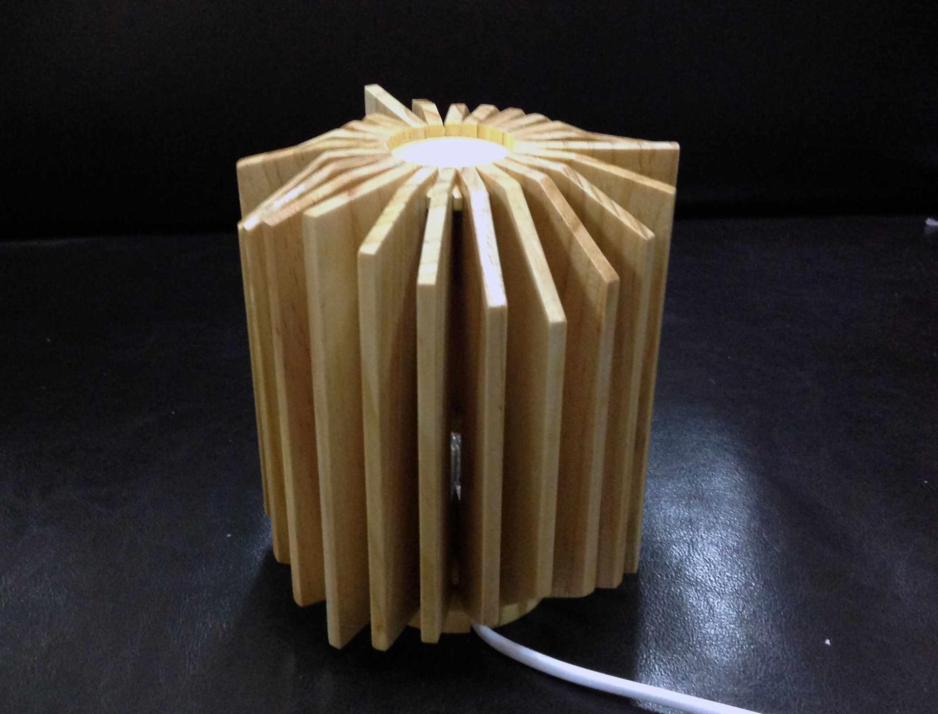 木质艺术摆件灯罩