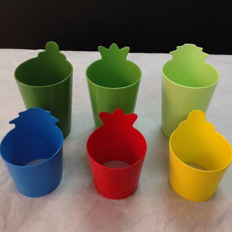 彩色水杯模型厨具样板