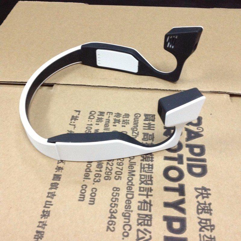 塑料软胶橡胶拼接耳机模型