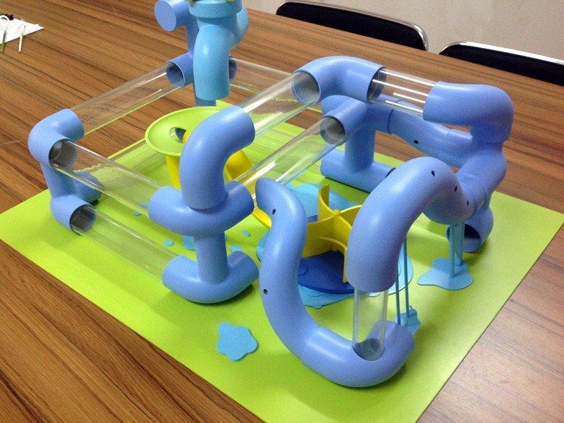 彩色工具模型