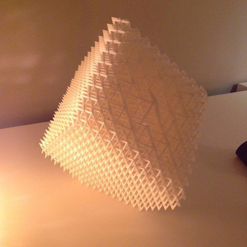 粉末烧结个性灯罩