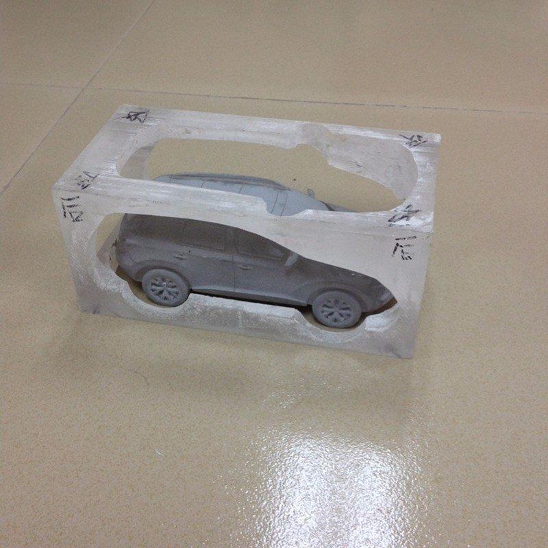 水晶透明车模玩具艺术品