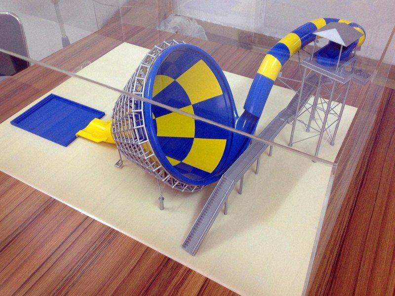 CNC游乐场模型手板