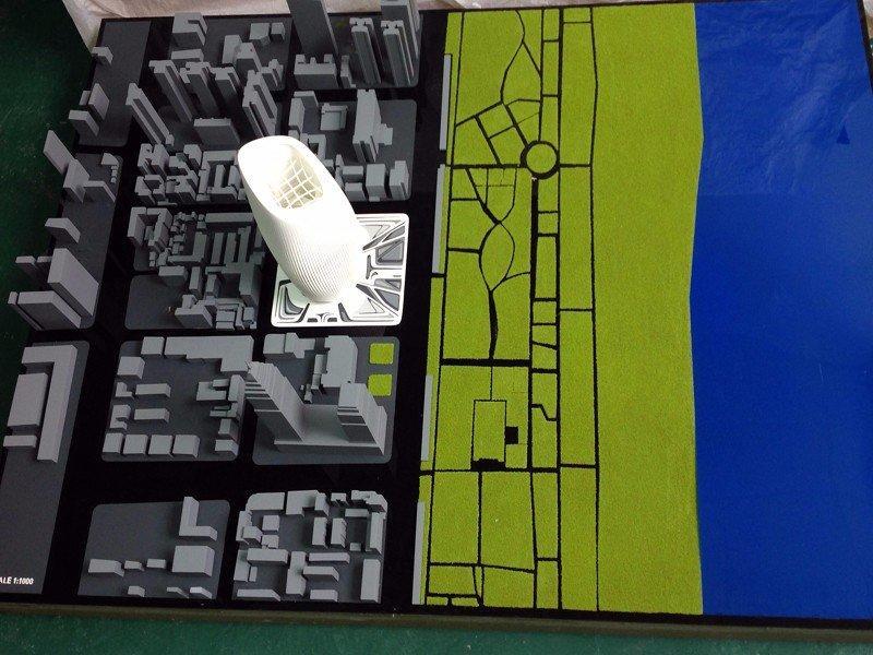 集团公司总部大厦概念设计建筑模型