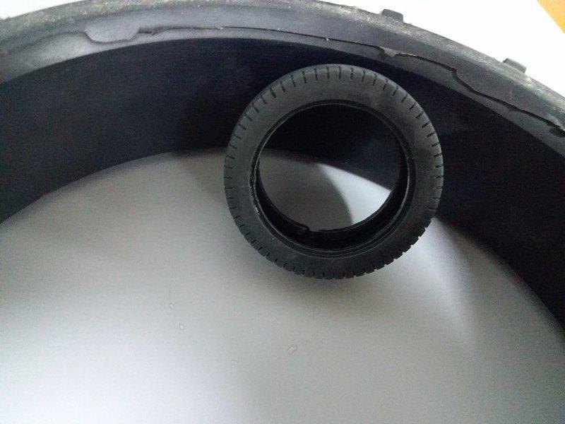 玩具汽车软胶轮胎配件