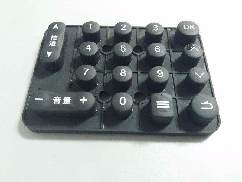 电视机遥控器软胶按键手板