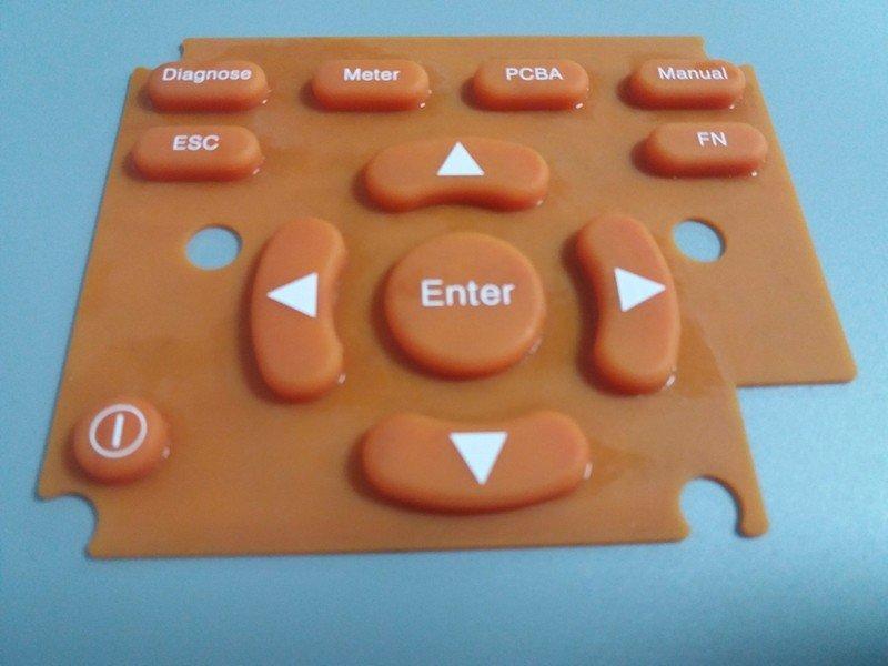 彩色遥控器按键软胶按键