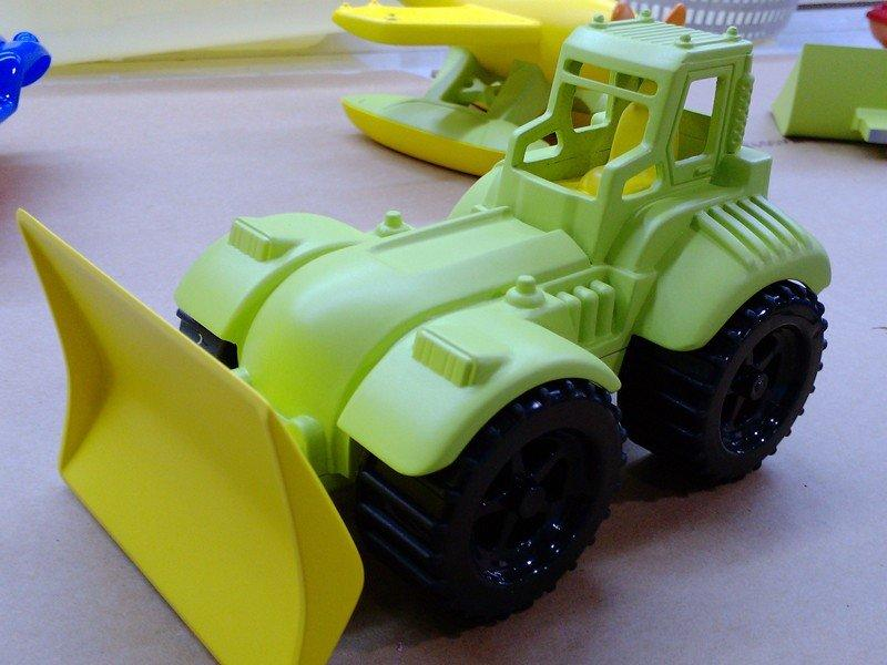 儿童玩具铲车模型