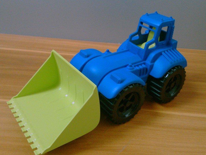 优质儿童玩具铲车模型
