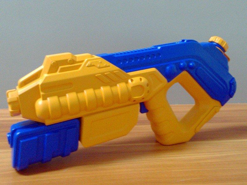 儿童玩具喷水枪手板