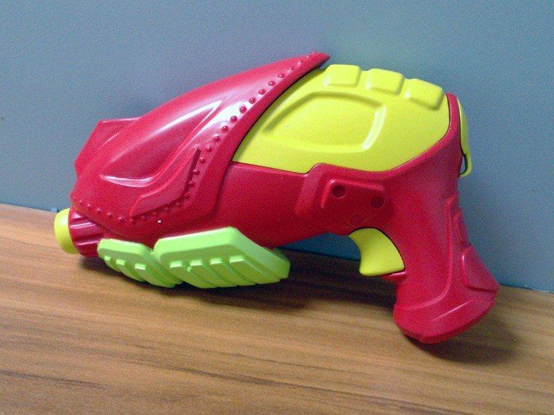 彩色塑料玩具洒水枪喷枪