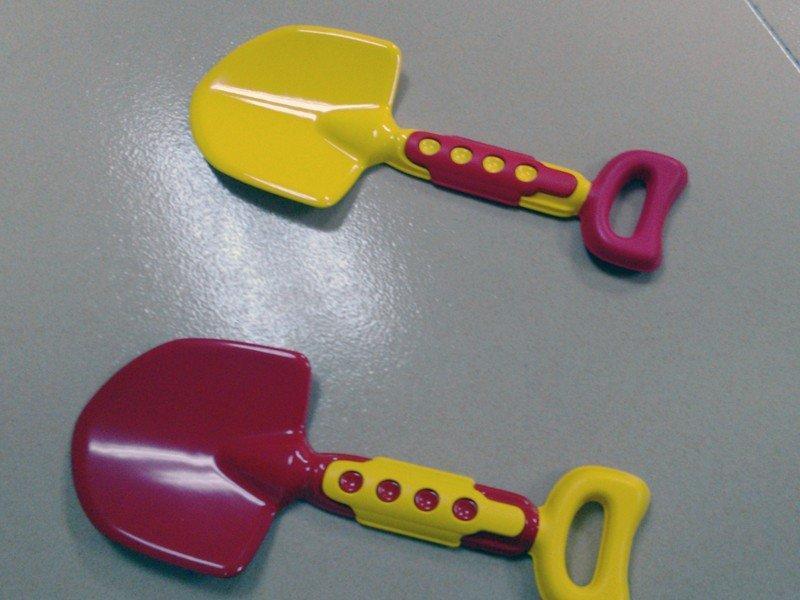 儿童沙滩玩具铲子模型