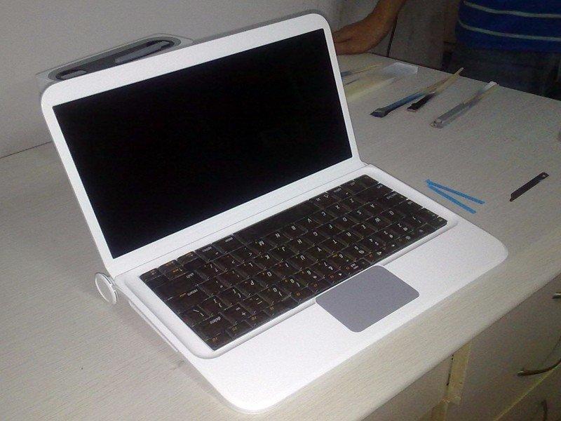 数控加工笔记本塑料外壳