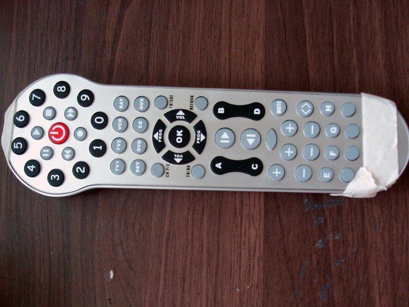 智能电视遥控器手板