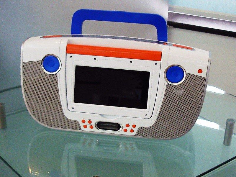 录音机塑料模型结构手板