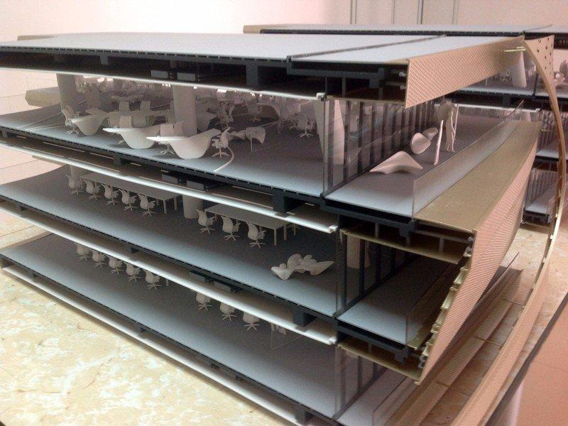 大型建筑模型手板