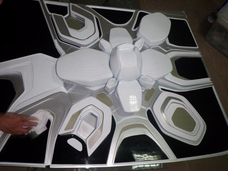 高要求手工后处理建筑模型手板专业制作