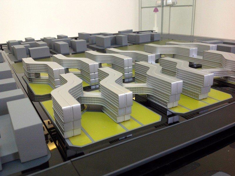 建筑模型3D打印结合数控加工制作