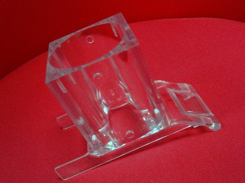 塑料亚克力高抛光透明手板