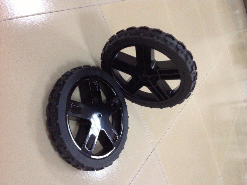 塑料汽车配件手板汽车轮胎模型