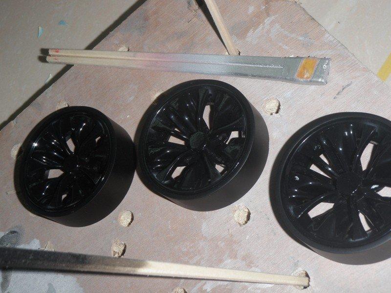 耐用汽车配件手板汽车轮胎模型