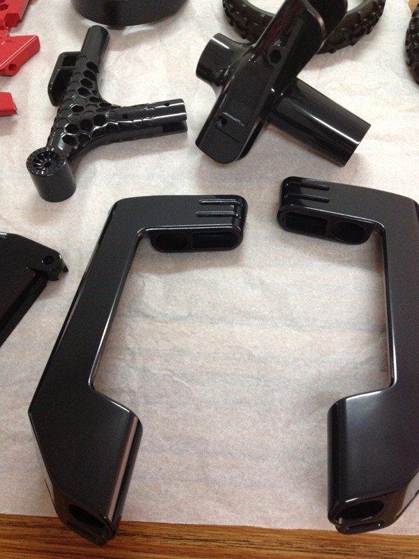 手工打磨机加工实用汽车配件手板