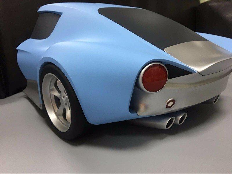 高要求定做概念车身模型